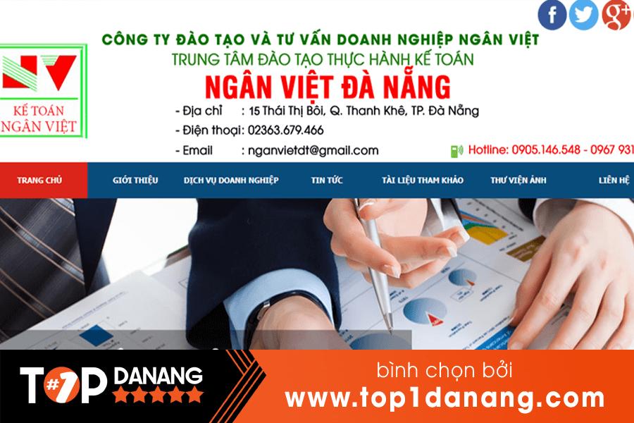 Công ty Đào tạo và Tư vấn doanh nghiệp Ngân Việt .