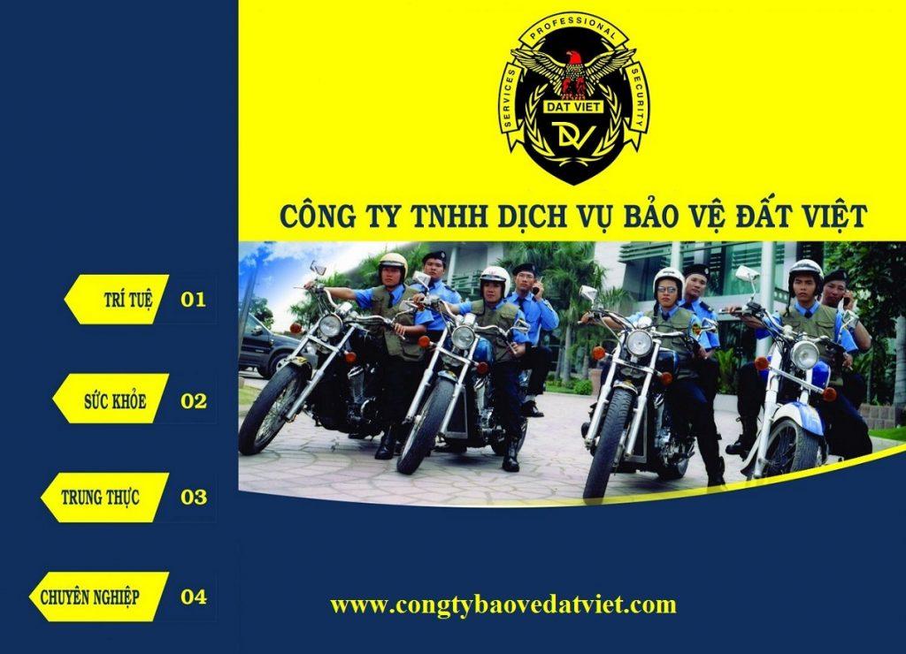 Công ty TNHH DV Bảo vệ Đất Việt  - Công ty dịch vụ bảo vệ tại TP HCM