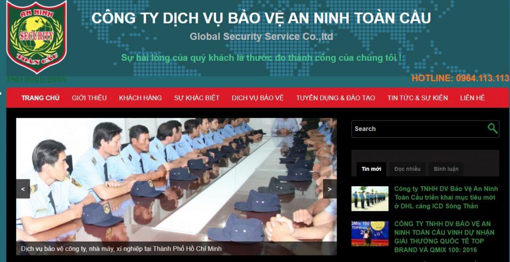 Công ty TNHH DV Bảo vệ An ninh toàn cầu  - Công ty dịch vụ bảo vệ tại TP HCM