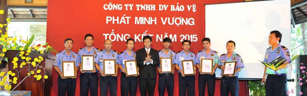 Công ty TNHH DV Bảo vệ Phát Minh Vượng  - Công ty dịch vụ bảo vệ tại TP HCM