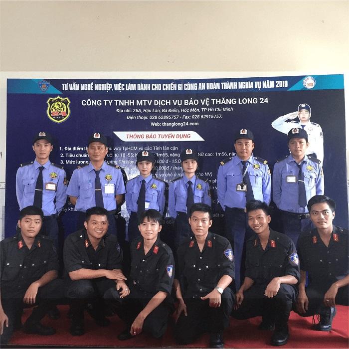 Công ty TNHH MTV DV Bảo vệ Thăng Long 24  - Công ty dịch vụ bảo vệ tại TP HCM