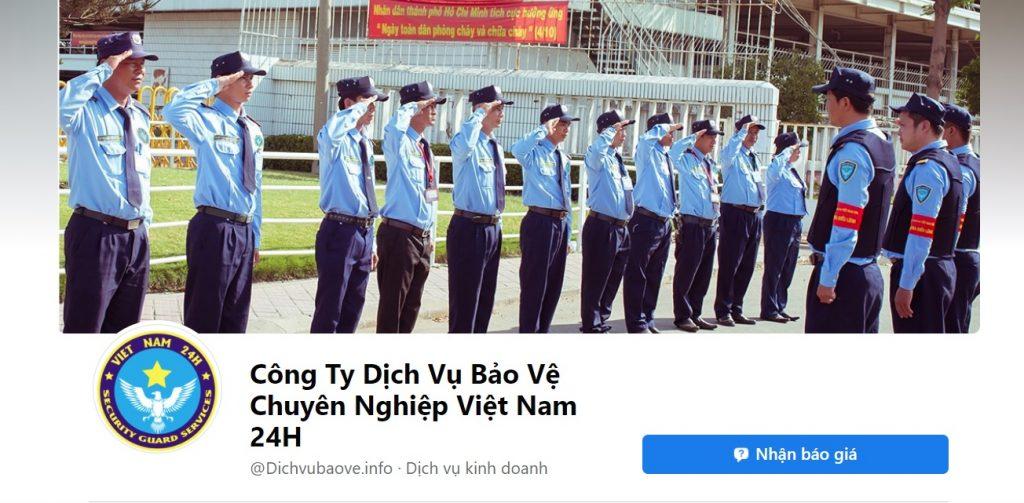 Công ty bảo vệ chuyên nghiệp Việt Nam 24h