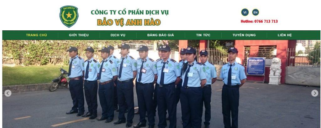 Công ty cổ phần dịch vụ bảo vệ Anh Hào