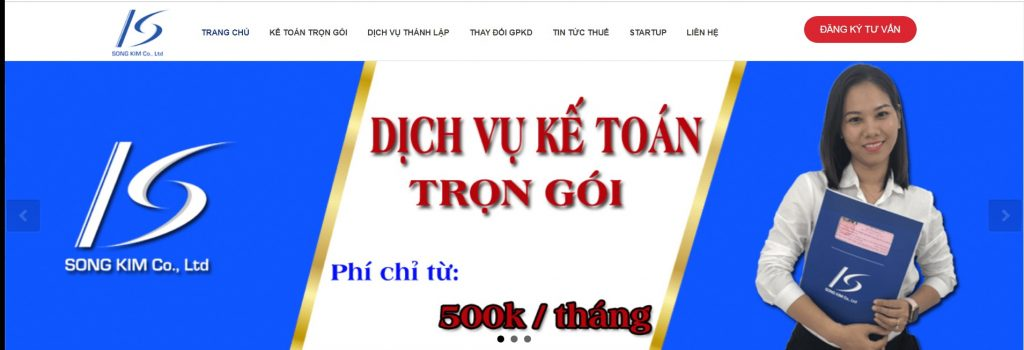 Công ty dịch vụ kế toán Song Kim tphcm