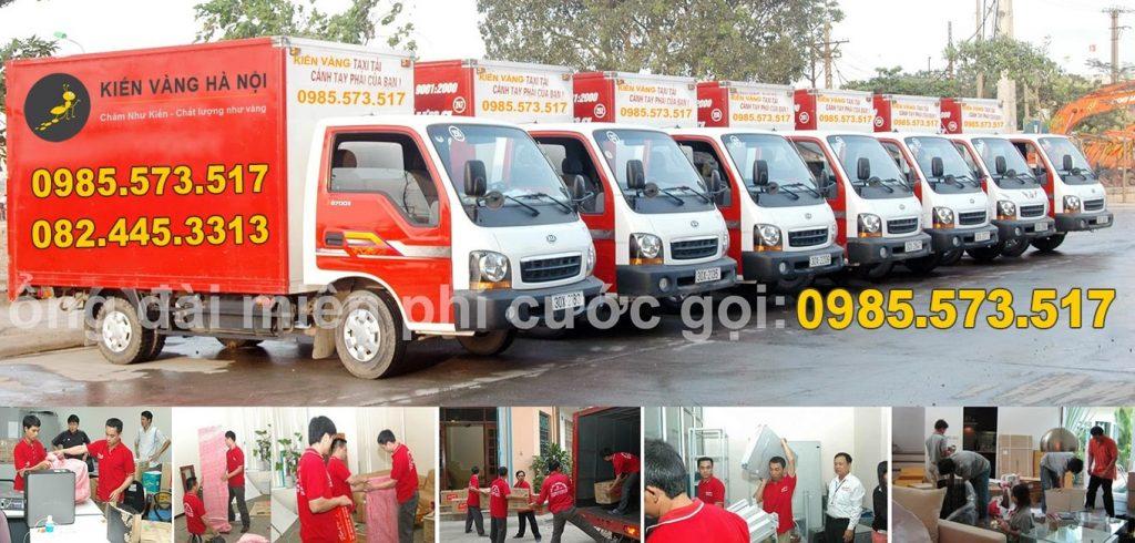 Dịch vụ chuyển nhà Kiến vàng Hà Nội