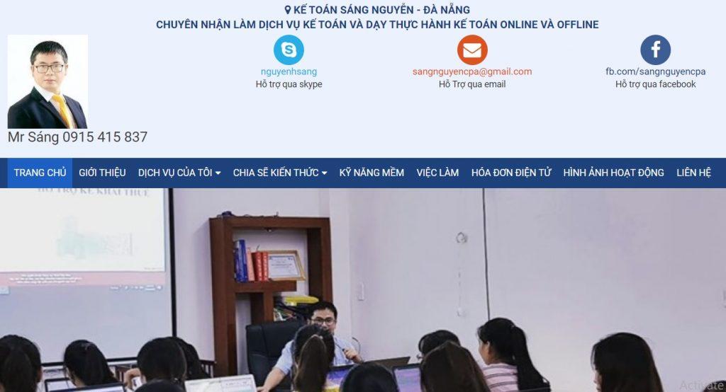 Dịch vụ kế toán Sang Nguyễn