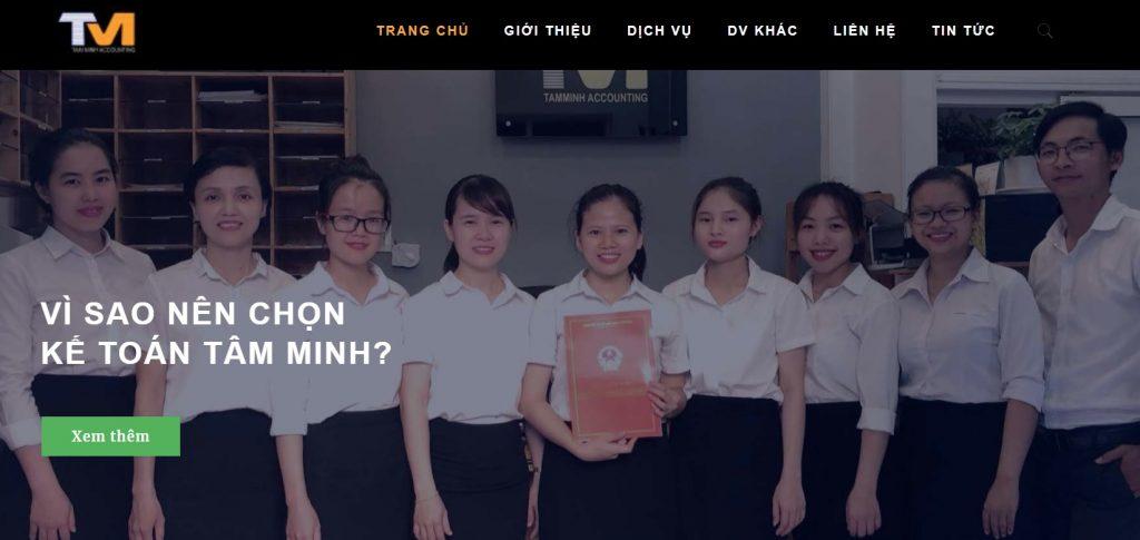 Dịch vụ kế toán Tâm Minh