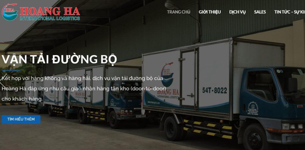 Dịch vụ khai thuê hải quan tphcm - hoàng hà logistics
