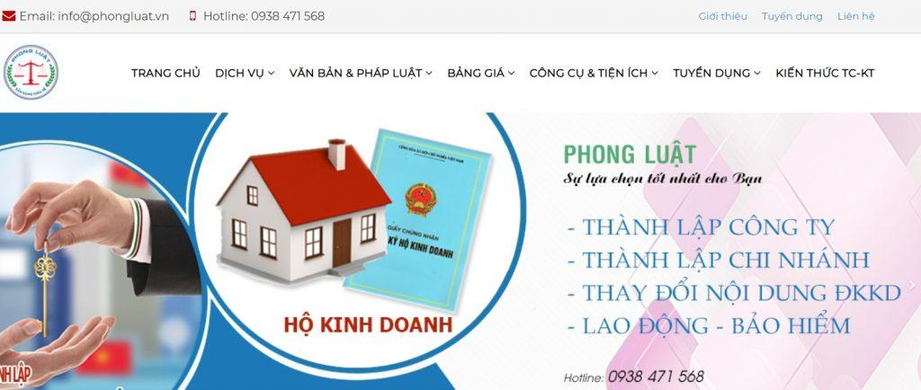 Dịch vụ thành lập công ty tại Đồng Nai - Tư vấn Phong Luật