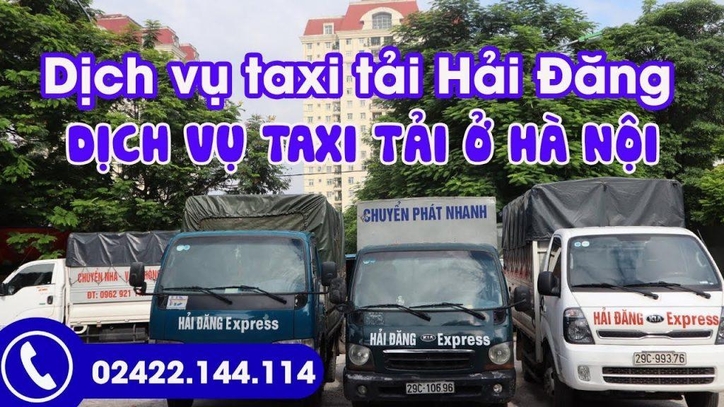 Taxi Hải Đăng-Chuyển nhà, văn phòng giá rẻ