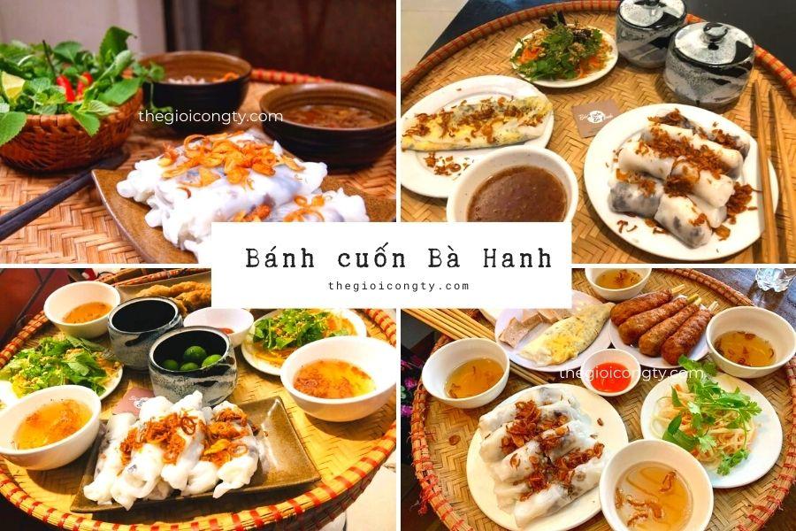 Bánh cuốn bà Hanh ngon ở Hà Nội
