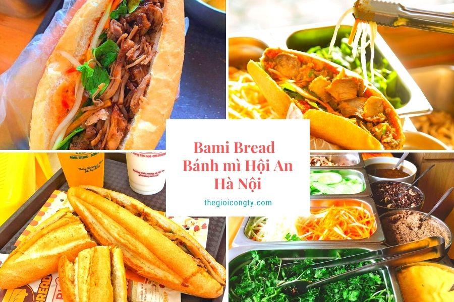 Bami Bread - Bánh mì Hội An ở Hà Nội có bán mang đi và giao hàng gần tôi