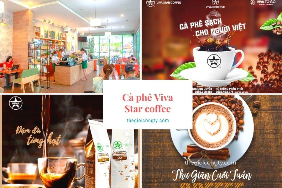 Cà phê Viva Star thương hiệu nổi tiếng có bán mua mang về và giao hàng