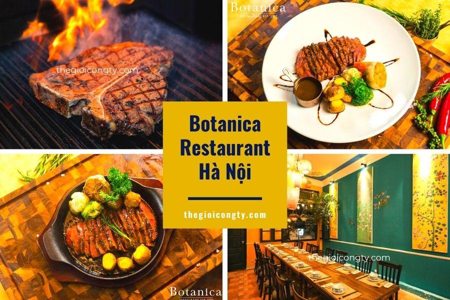 Botanica Restaurant ở Hà Nội