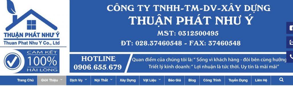 Công Ty Thuận Phát Như Ý - Dịch vụ tốt giá hấp dẫn