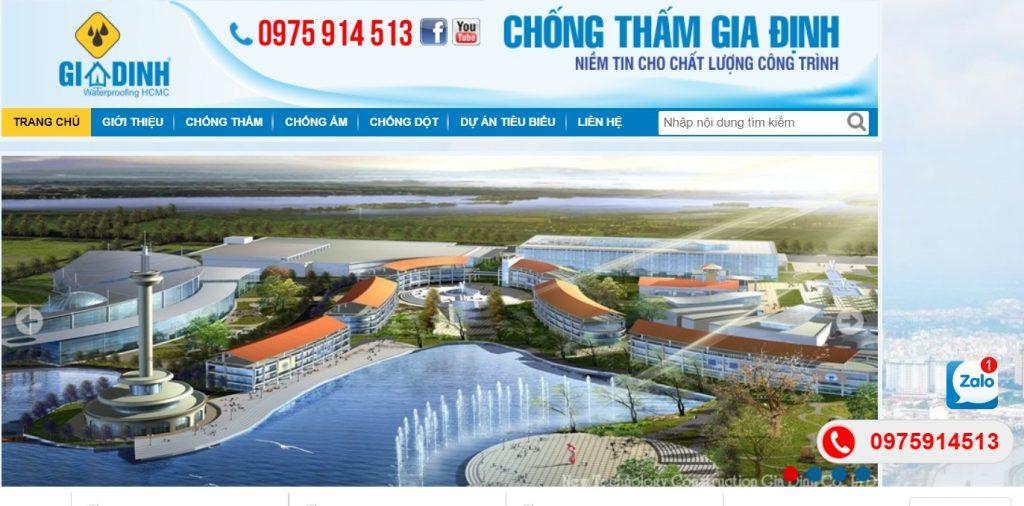 Công ty TNHH chống thấm Gia Định - Dịch vụ chống thấm  giá rẻ tại TP.HCM