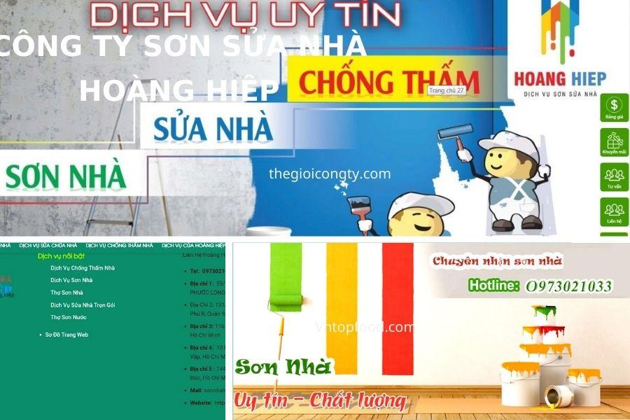 Công ty sơn sửa nhà Hoàng Hiệp - Công ty chống thấm uy tín TPHCM