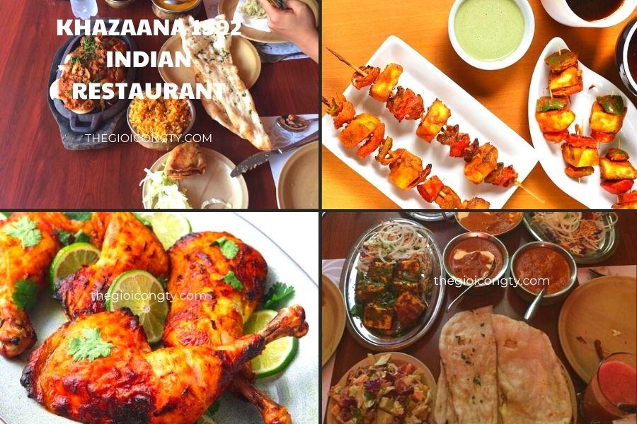 Khazaana 1992 Indian Restaurant Hanoi