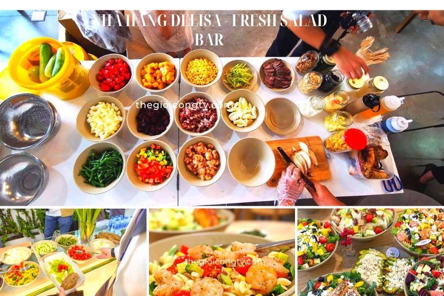 Nhà Hàng Delisa - Fresh Salad Bar đang mở cửa gần tôi bán mang về