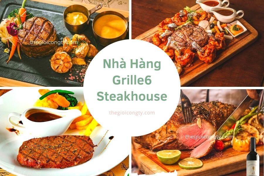 Nhà Hàng Grille6 Steakhouse bán đồ ăn mang đi