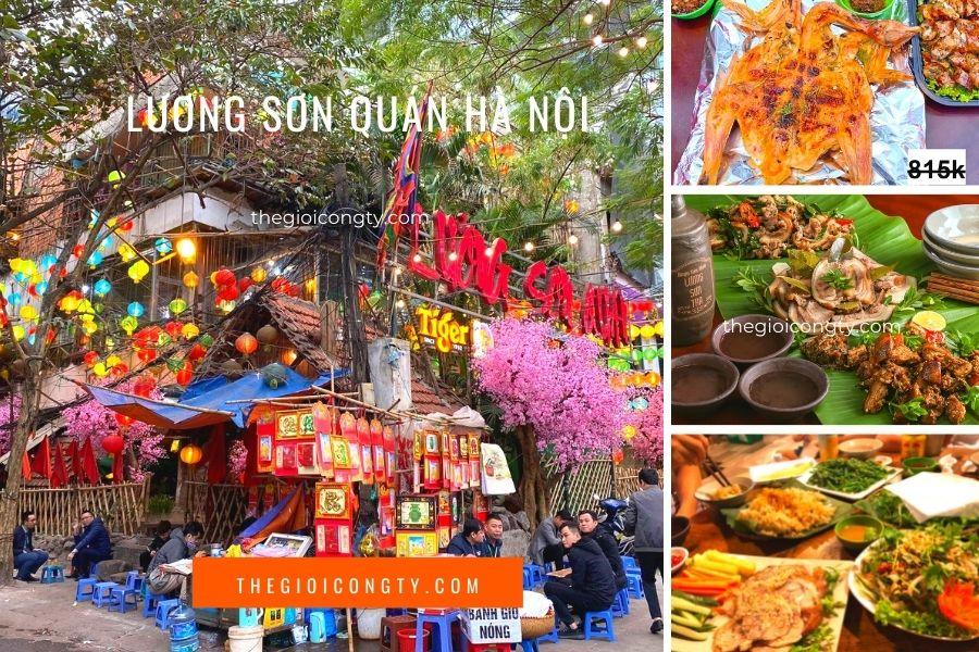 Nhà Hàng Lương sơn Quán ở Hà Nội