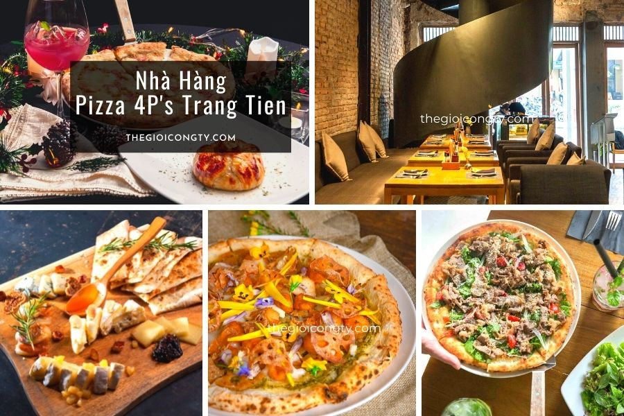 Nhà Hàng Pizza 4P's Trang Tien  ở Hà Nội