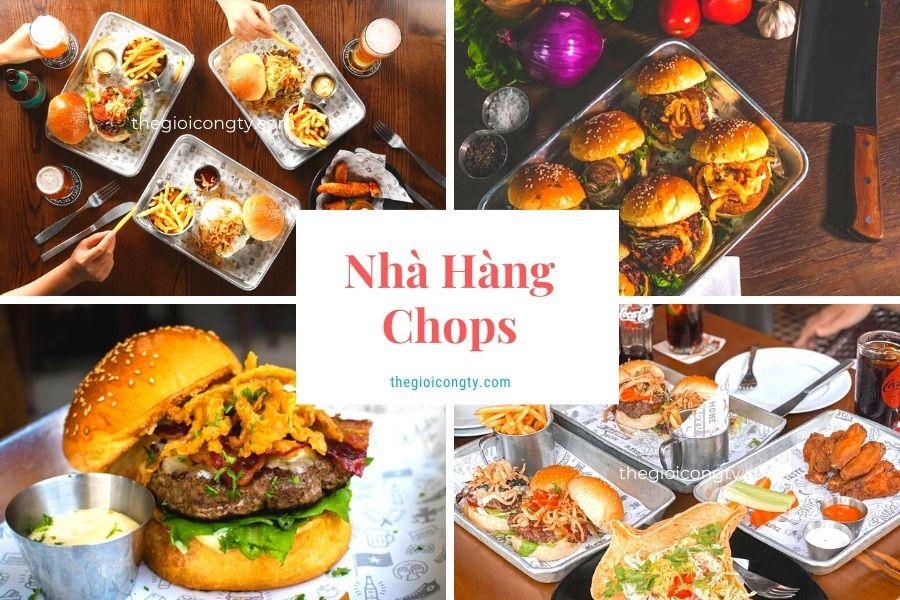 Nhà hàng Chops có bán mang về ở Hà Nội