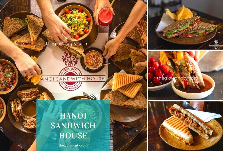 Nhà hàng Hanoi Sandwich House bán mang đi