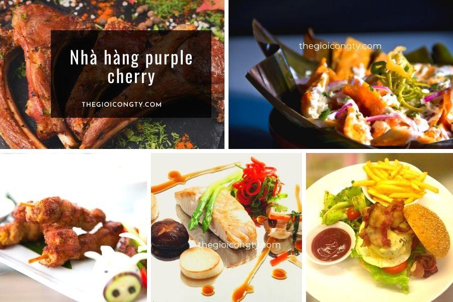 Nhà hàng Purple Cherry ở Hà Nội có bán mang về và giao hàng