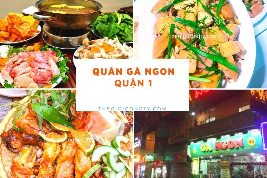 Quán Gà Ngon - Lẩu gà lá é ngon ở Sài Gòn