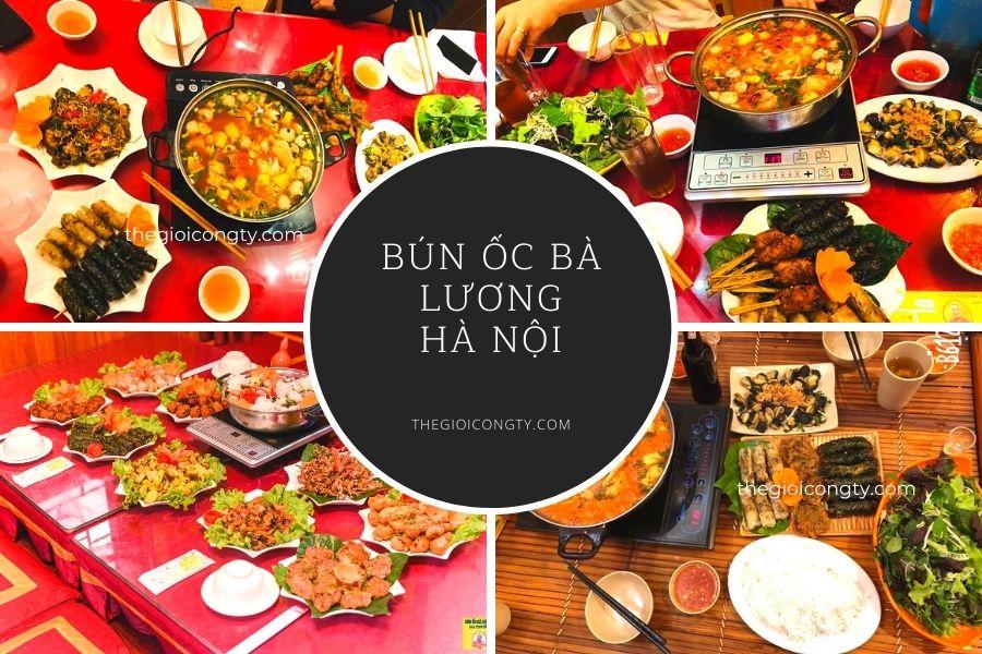 Quán bún ốc Bà Lương Hà Nội