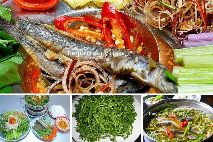 Rau Đắng lẩu cá kèo - Lẩu cá kèo ngon ở Sài Gòn